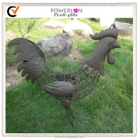 Metal outdoor decoration garden chicken