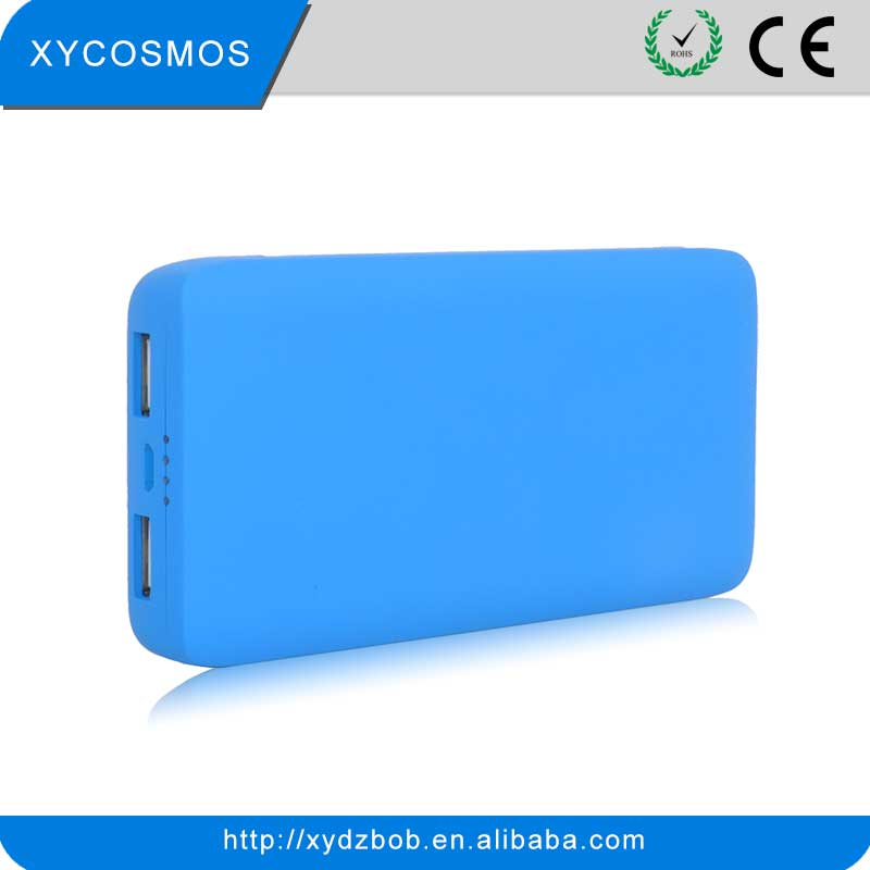 Newest Designed Hot-seller Double USB 5000 mAh Power Bank Charger