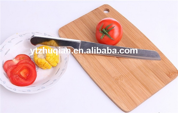 2016 Hot Selling Product For Kitchen Natural Solid Bamboo Cutting Board Chopping Block