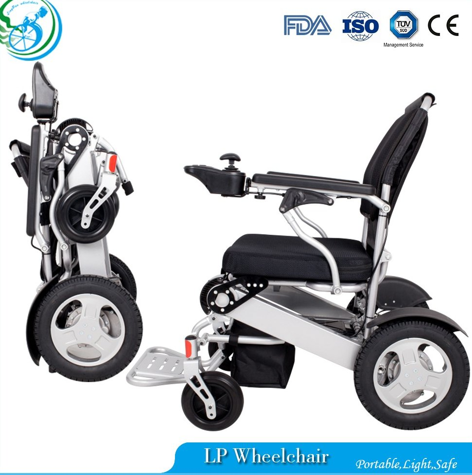 Cheap price handicapped power electric wheelchair