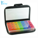 28 Compartments Notebook PU Leather 7 Day Pill Box with layer
