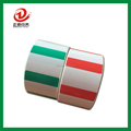 colored barcode laser printing adhesive label sticker