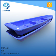 Rotomolding plastic small river fishing pontoon boats for sale with good service
