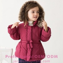 2015 fashional succinctly children coats with soft fabric in China