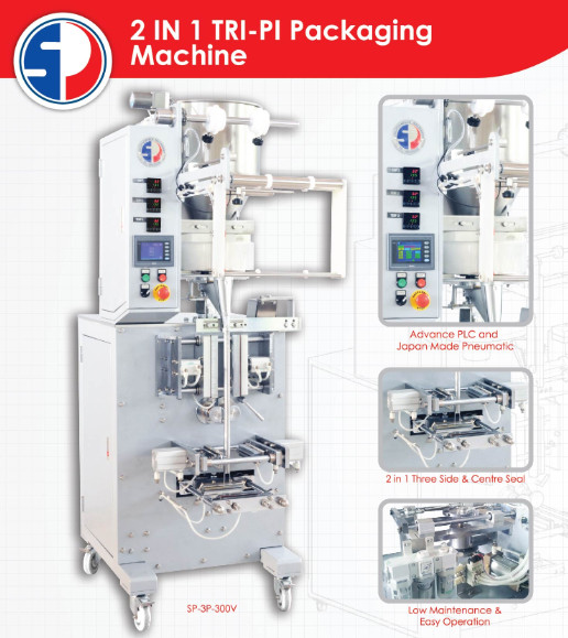 2 IN 1 TRI-PI PACKAGING MACHINE