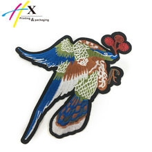 Popular Eco-Friendly Peacock Embroidery For Patches Designs