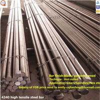 good property 1.6511 structural steel / SNCM439 steel round bar / alloy steel 4340