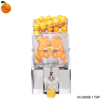 Manufacture High Quality High Efficiency Orange Juicer Commercial