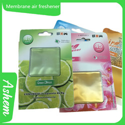 The best selling membrane car air freshener with logo printing, IC-895