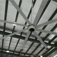 Modern Indoor Cooling Large Commercial DC Ceiling Fan Without Light
