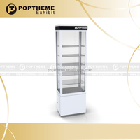 Fashion glass lockable display cabinet/display showcase