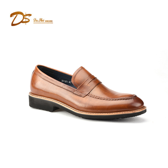 Lace Up luxury Men Casual Footwear Loafer Shoes High Quality Casual Shoes For Men
