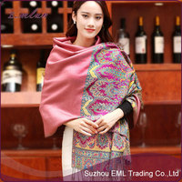 National wind large air conditioning shawls/long scarf traveling cloak
