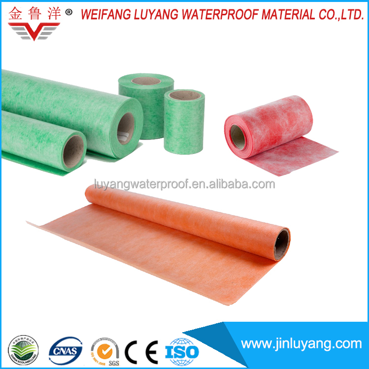 polyethylene polypropylene waterproofing material for bathroom floor