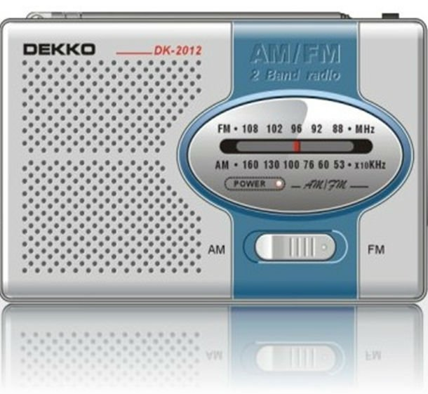 AM FM portable kchibo radio