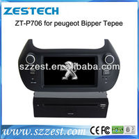 HD Touch Screen 2013 CAR DVD PLAYER for Peugeot Bipper Teppe Car DVD GPS/Radio/CANBUS/ Phonebook/ iPod/mp4/mp5/TV