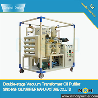 Vacuum Mobile Oil Filtration Unit For Sale From Over-20-Year Chinese Brand