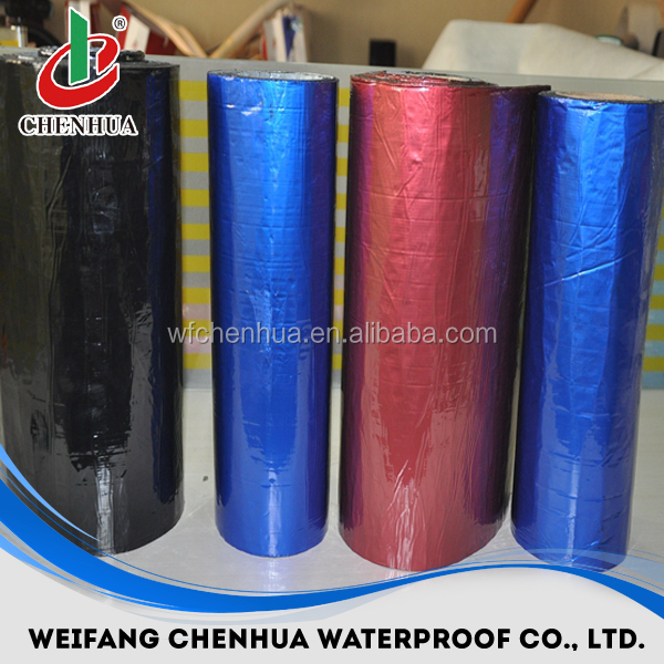 building material manufacturer rubber roofing waterproof self adhesive membrane
