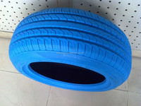 China color tire blue color, yellow color tire, red color tire