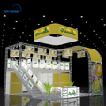China modular double deck exhibition booth trade show display stands