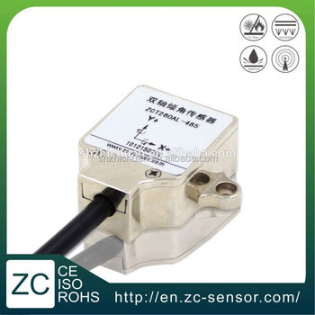 China ZC Sensor dual two axis tilt angle sensor