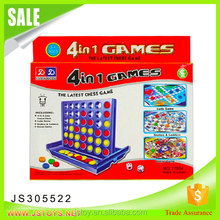 Hot selling 4 in 1 tic tac toe game pieces for kids