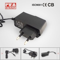 12W 12 volt 1 amp AC / DC power adapters / power supply 100-240v 50-60hz ac dc 12v adapter - Desktop Wall-mounted