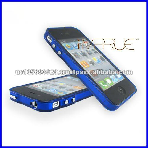 Transparent PVC bumper for cell phone