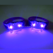 Wholesale Fashion LED Band Silicone Bracelet Controlled Light Bracelet