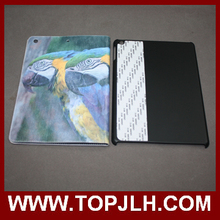 Blank White PU Cover Matte PC holder For iPad sublimation leather flip case