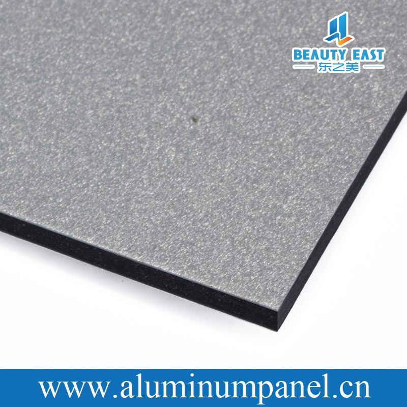 silver aluminum composite panel sheet acp unitized curtain wall