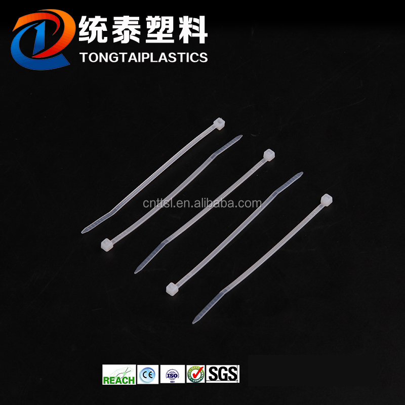 TTS 5*250 premium quality nylon cable tie, custom color plastic cable tie wrap, factory direct pa66 zip tie