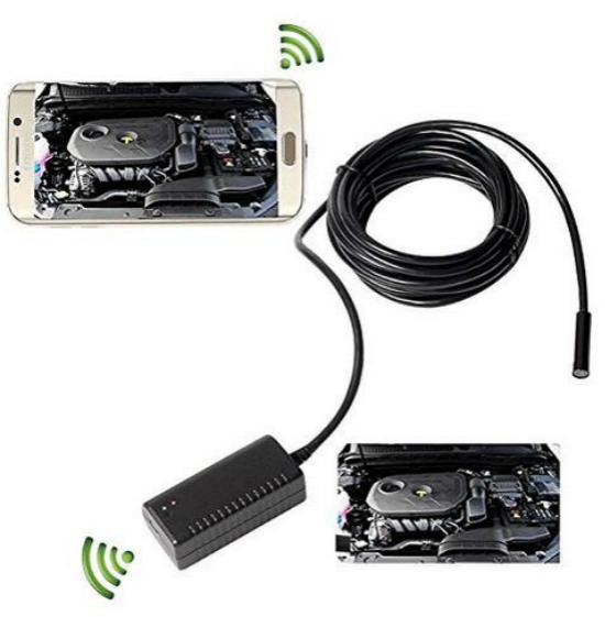 WIFI Wireless Endoscope USBest Selling In Europe Indian CMOS Mini Broscope Portable IOS /Android Waterproof CCTV Camera for Pipe