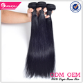 Factory sale top grade 6a straight remy hair weaving brazilian