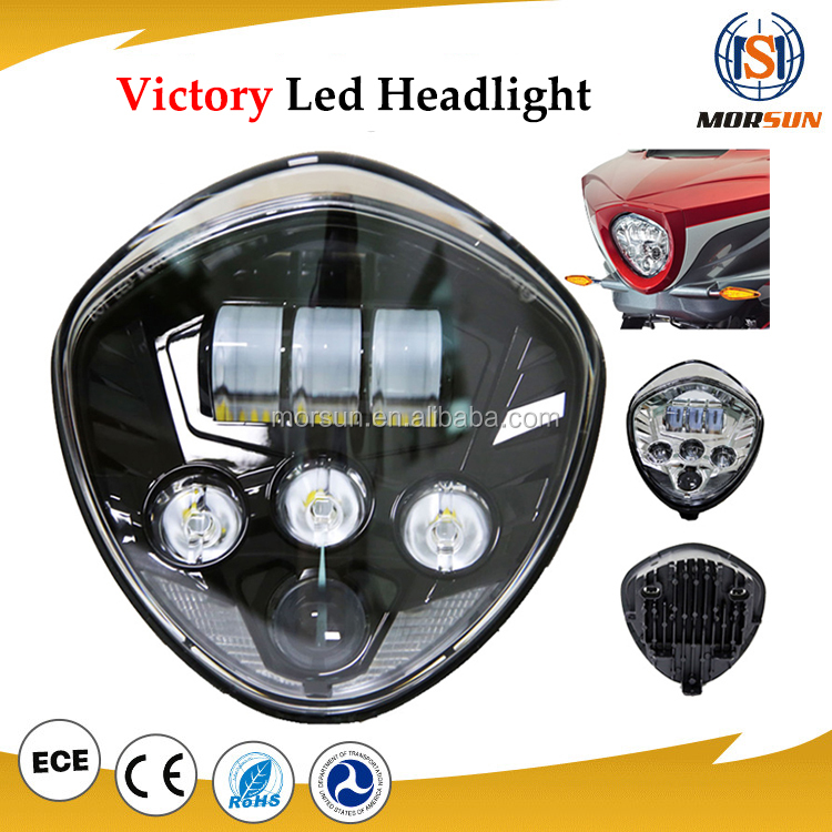 Automobiles & Motorcycles Hi/Lo beam victory motorcycle led headlight projector headlight