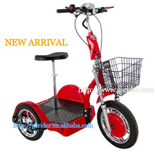 Shanghai Gewing safe reliability hub motor three wheel electric scooter