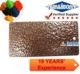 high temperature polyurethane bronze hammered texture PU Powder Coating lacquer substitute powders for metal substrate