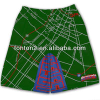 custom boxing sublimated shorts made