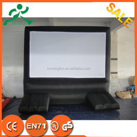 hot sales inflatable movie screen,inflatable screen projector,indoor inflatable screen