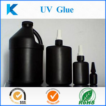 Customized fast clear UV curing glue for kinds bonding