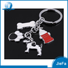 2017 High Quality Promotional Custom supplies Zinc Alloy Metal Keychain