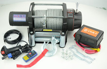 4WD heavy duty electric winch 15000lb for 4x4 trailer towing recovery
