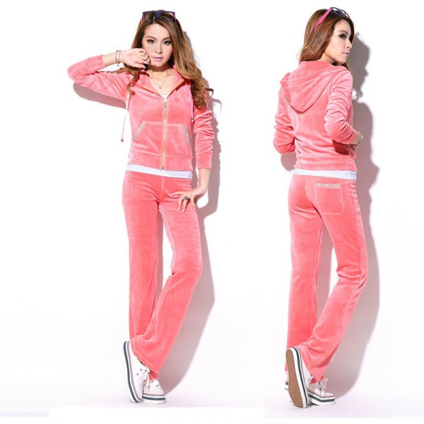 2015 high quality girls velour tracksuits,wholesale bulk sexy girl onesie training suits,adult jogging suit