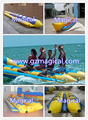 12 persons inflatable water boat inflatable banana boat inflatable hot dog single tube towable