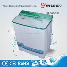 Twin tub top loading semi-automatic 8.5kg washing machine with dryer