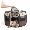 CHINA location Folding Polyester Fabric Pet Playpen Dog Cat Puppy Play Pen