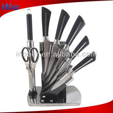 (BK166)Quality soft handle 7pcs stainless steel knifes set kitchen