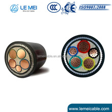 0.6/1kv 5x25mm2 Copper Conductor XLPE Insulated PVC Sheathed Power Cable Electric Cable Manufacture