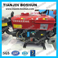 professional manufacturer agricultural machine Single cylinder diesel engine hp3-30 hand & electric start 4 stroke R165 ZS1115