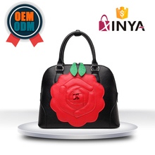 Buy direct from china factory flower handbags roses